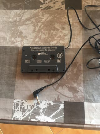 Adaptador de cassette Radio compás disc