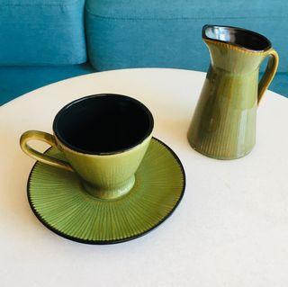 Juego individual café/té