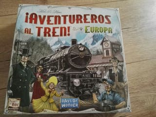 juego Aventureros al tren