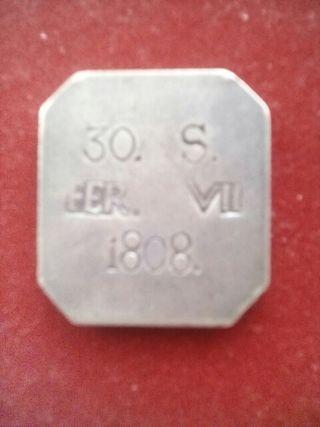 moneda de Fernando VII