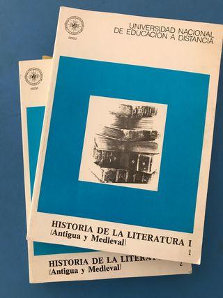Libro Historia de la Literatura. UNED