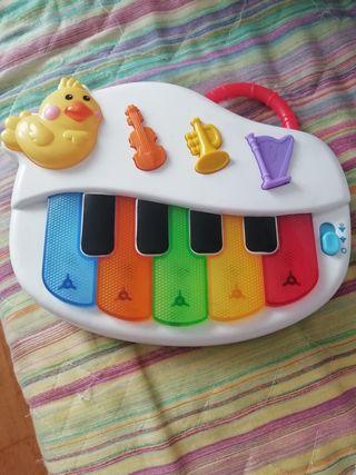 Juguete piano bebé