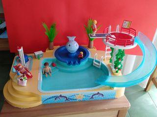 Playmobil Parque acuatico fuente ballen ref. 5433