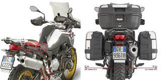Portamaletas lateral BMW F 750 850 GS 18 MONOKEY®