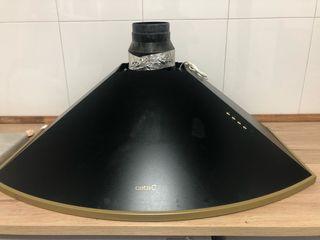 Campana extractora rústica