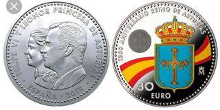Moneda Felipe VI y Leonor 2018