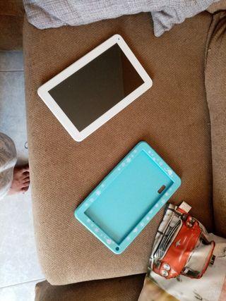 tablet con funda es para pieza no funciona