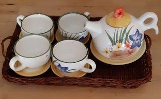 minitazas de té