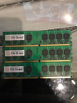 Transcend JETRAM Memoria RAM 1GB