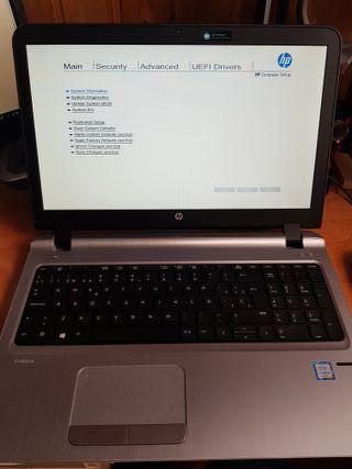 Portatil Hp Probook 450 G3 I5,8Gb Ram,128Gb SSD M2