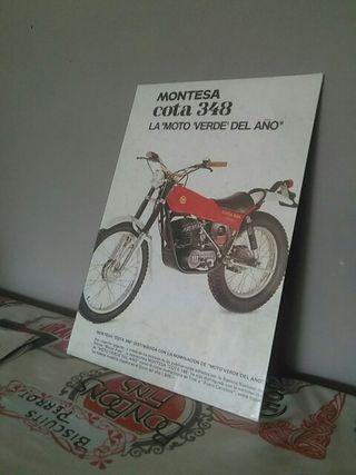 publicidad Montesa cota 348