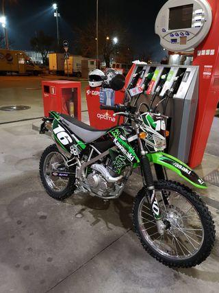 Kawasaki klx 125 motocross