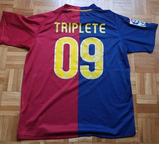 Camiseta Barcelona Barça 2008 2009 Triplete