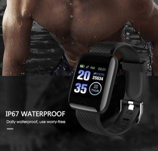 Smartwatch con Pulsera Actividad Reloj Deportivo M