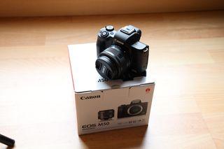 CANON M50+ 15-45 STM-- SOLO 2000 DISPAROS