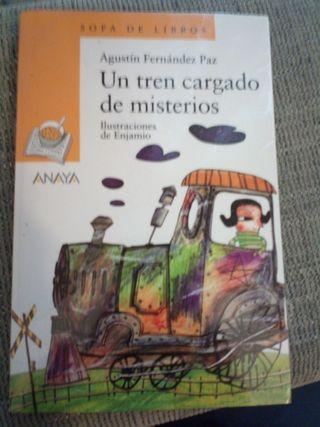 Un tren cargado de misterios ANAYA