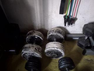 2x44kg mancuernas