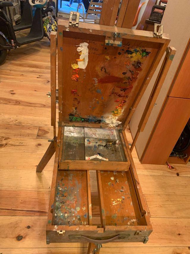 Caballete / Atril de Pintura Portátil Regulable