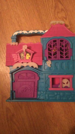 Casa del terror pin y pon