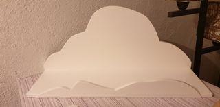 estanteria infantil forma nube