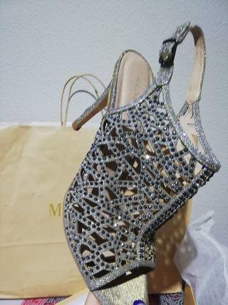 conjunto zapatos y bolso