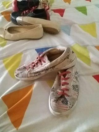 zapatos niños y niñas