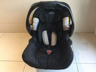 Silla coche bebé grupo 0+, Graco Junior
