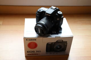CANON 70D +18-55 STM- SOLO 6690 DISPAROS