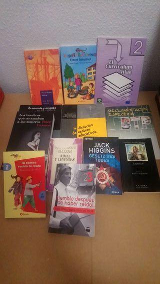 lote 12 libros variados