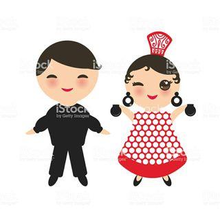 Ropa flamenca niñas de 5 a 7 años