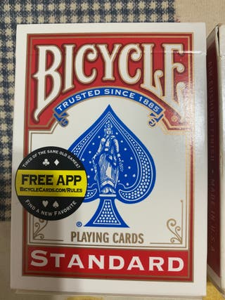 Baraja de cartas.