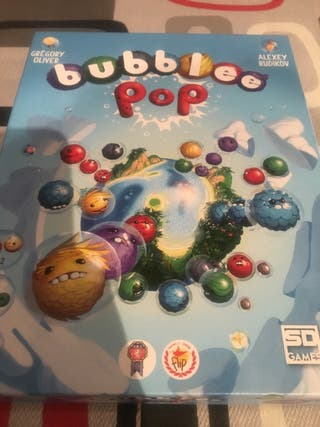 Juego de mesa bubble pop
