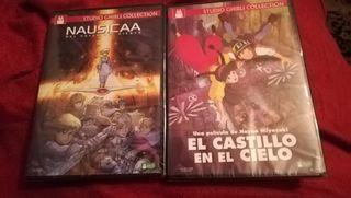 2 DVDs juveniles, Precintados
