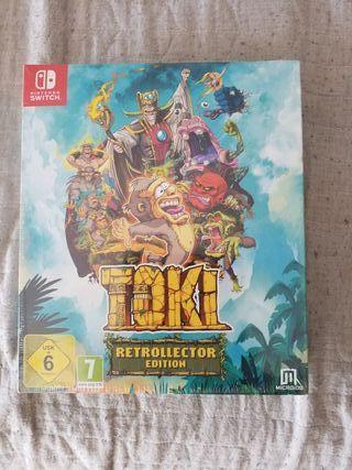 Nintendo Switch edición COLECCIONISTA nuevo Toki