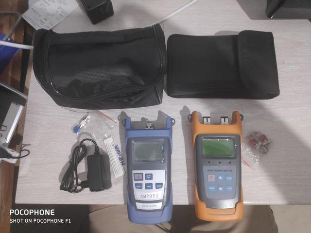 Kit de medición fibra optica