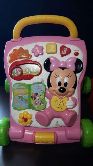 Correpasillos andador caminador Minnie Mouse