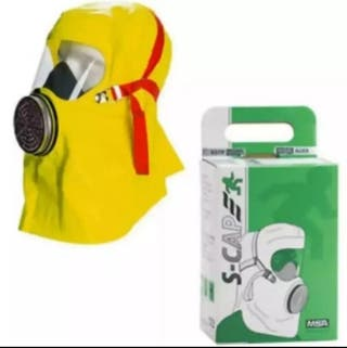 Máscara de escape en emergencias MSA. Sin estrenar