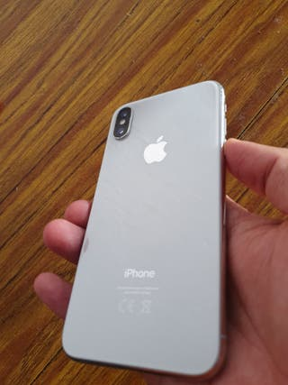 iphone X 64GB Blanco