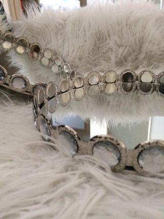 Bandejas con fondo de espejo