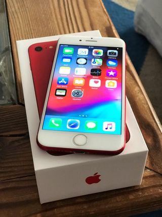 iPhone 7 256gb rojo LIBRE