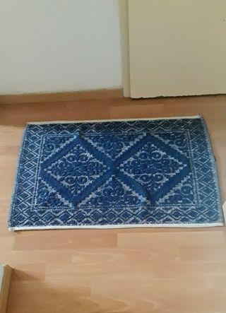 Blue carpet. Maison du monde. Home & decoration
