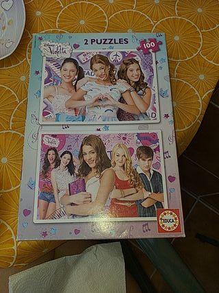 2 puzzles 100 piezas