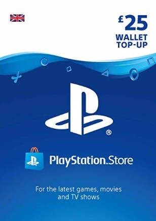 25£ PS4 gift card