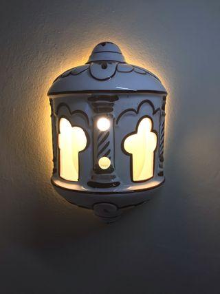 Faroles estilo árabe de cerámica