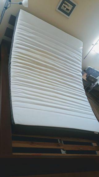 Ikea mattres. Bed. Home & bedroom