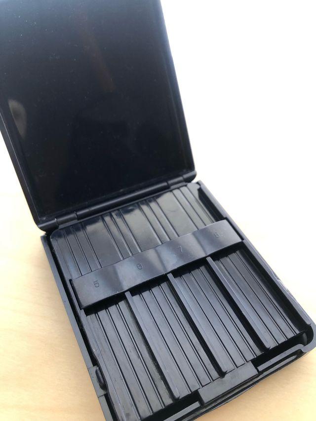 Caja para guardar cañas clarinete Vandoren