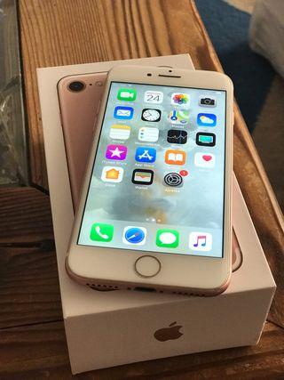 iPhone 7 128gb libre ROSA