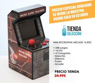 MUESTRA Consola mini arcade 16Bits - videojuego