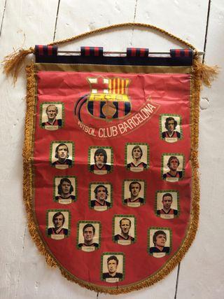 BANDERIN F.C.B. BARCELONA 1970 BARÇA