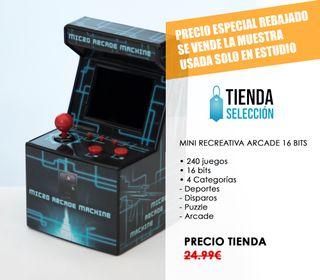 MUESTRA Consola mini arcade FUTURA - videojuego